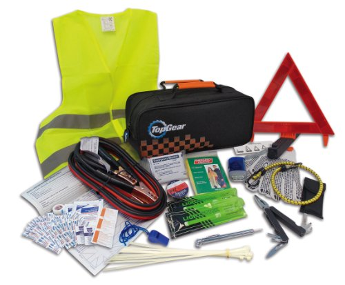 Top Gear Premium Roadside Assistance Kit (66-piece)