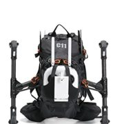 Black Backpack for DJI Inspire 1 / DJI Inspire 2 by C11