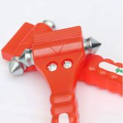 2 PCS IPOW Car Safety Antiskid Hammer Seatbelt Cutter Emergency Class/Window Punch Breaker Auto Rescue Disaster Escape Life-Saving Hammer Tool,Big