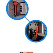 Tools of Life (TM) Car Hammer Seatbelt Cutter Window Breaker Emergency Escape Tool