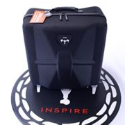 Bestem Aerial DJI Inspire 1 Black Waterproof 1680D EVA Shell Unique Hardshell InsPak Backpack Carrying Case with Gimbal Lock for DJI Inspire 1 (X3 only)