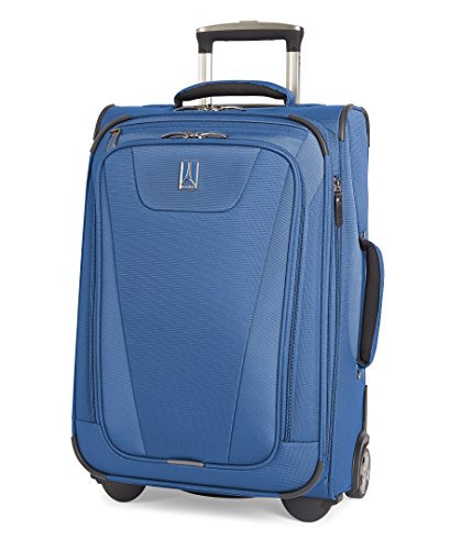 Travelpro Maxlite 4 Expandable Rollaboard 22 inch Suitcase, Blue